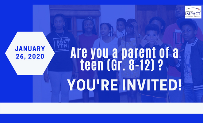 Youth Parent Lunch – Register now!