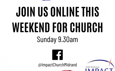 Join us online this weekend for Church!